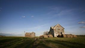 Huis op de Prairie Royalty-vrije Stock Fotografie