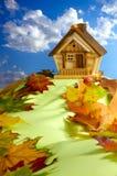 Huis op een Heuvel Royalty-vrije Stock Fotografie