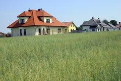 Huis op het dorp Royalty-vrije Stock Fotografie