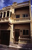 Huis op het Eiland Malta Royalty-vrije Stock Afbeeldingen