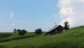 Huis op het platteland Stock Afbeeldingen