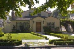 Huis op het Zuiden van het Schiereiland van San Francisco Stock Foto