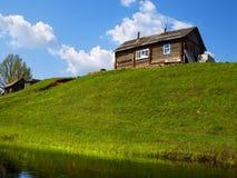 Huis op kust Stock Fotografie