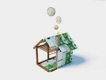 Huis op lening Royalty-vrije Stock Afbeelding