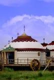 Huis op ThWeide Royalty-vrije Stock Afbeelding
