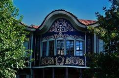Huis in Oude Plovdiv Royalty-vrije Stock Foto's