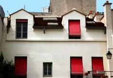 Huis in Parijs Stock Foto's