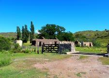 Huis in ruïnes Royalty-vrije Stock Foto's
