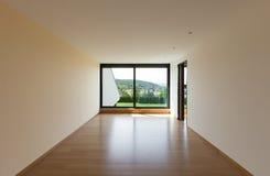 Huis, ruimte met venster Stock Afbeelding
