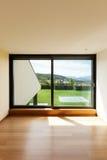 Huis, ruimte met venster Royalty-vrije Stock Afbeelding