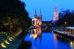 Huis ten Bosch (parco a tema) Fotografia Stock