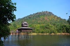 Huis Thaise stijl Royalty-vrije Stock Afbeeldingen