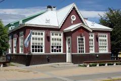Huis in Ushuaia Royalty-vrije Stock Afbeeldingen