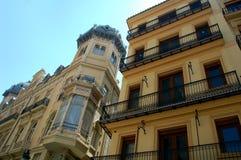 Huis in Valencia Royalty-vrije Stock Afbeelding