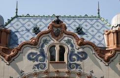 Huis van architect Ferenc Raichle in Subotica Royalty-vrije Stock Afbeeldingen