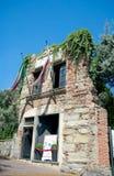 Huis van Christopher Columbus, Genua, Italië Stock Afbeeldingen