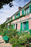 Huis van Claude Monet in Giverny Royalty-vrije Stock Fotografie