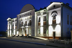 Huis van Cultuur in Kashin Rusland stock foto