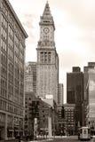 Huis van de Douane van Boston het Oude Royalty-vrije Stock Fotografie