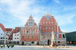 Huis van de Meeëters Riga, Letland Royalty-vrije Stock Foto