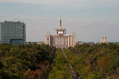 Huis van de Vrije Pers van Boekarest, Roemenië Royalty-vrije Stock Fotografie
