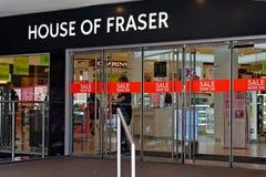 Huis van Fraser, Londen, het UK stock afbeeldingen