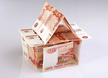 Huis van Geld Royalty-vrije Stock Foto