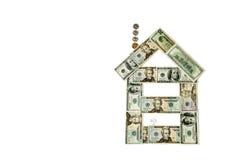 Huis van geld Stock Afbeeldingen
