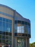 Huis van glas, stedelijke stijl Stock Foto's