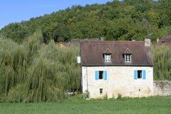 Huis van heilige-Amand-van-Coly Royalty-vrije Stock Foto