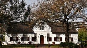 Huis van het kaap het Nederlandse Landbouwbedrijf royalty-vrije stock foto