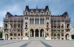 Huis van het Parlement, Boedapest Royalty-vrije Stock Foto's