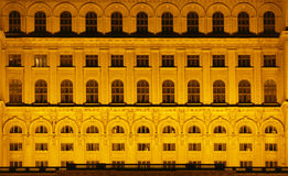 Huis van het Parlement, Boekarest, Royalty-vrije Stock Afbeeldingen