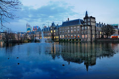 Huis van het Parlement, Den Haag royalty-vrije stock foto