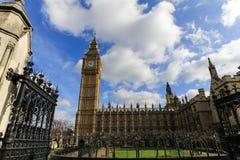 Huis van het Parlement en Big Ben Royalty-vrije Stock Foto's
