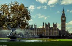 Huis van het Parlement en de Big Ben Royalty-vrije Stock Fotografie