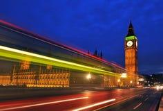 Huis van het Parlement en de Big Ben Stock Foto's