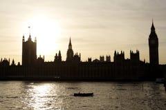 Huis van het Parlement in Londen Stock Foto