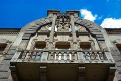 Huis van Huilende Weduwe, Kiev, de Oekraïne Royalty-vrije Stock Foto's