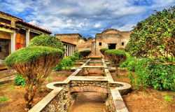 Huis van Julia Felix in Pompei royalty-vrije stock fotografie