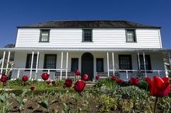 Huis van Kemp van de Post van de Opdracht van Kerikeri het Historische royalty-vrije stock foto