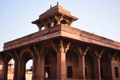 Huis van Miriam, Fatehpur Sikri, Uttar Pradesh stock fotografie