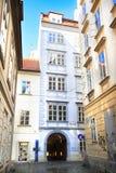 Huis van Mozart, Oostenrijk Stock Afbeelding