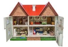 Huis van poppen royalty-vrije stock afbeeldingen