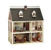 Huis van poppen Stock Foto