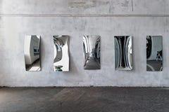 Huis van spiegels royalty-vrije stock afbeeldingen