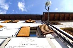 Huis van Tina Modotti Stock Foto