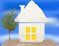Huis van uw droom. Stock Afbeelding