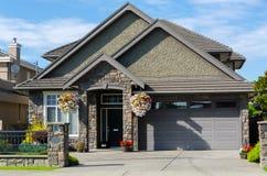 Huis in Vancouver Stock Foto