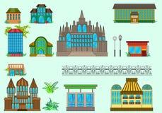 Huis vectorillustratie vector illustratie